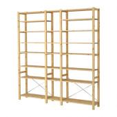 IVAR 3 sections/shelves, pine - 899.036.04