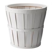 KALASA Plant pot, white - 501.861.09