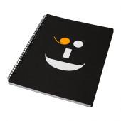 KÄNNETECKEN Notebook, black, orange - 902.935.17