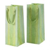KÄRESTA Gift bag, green - 102.952.33