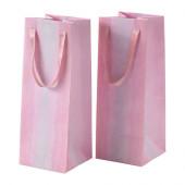 KÄRESTA Gift bag, pink - 403.017.94