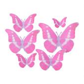 KÄRESTA Gift wrap decoration, set of 6, pink - 502.997.76
