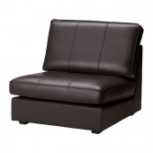 KIVIK One-seat section, Grann, Bomstad dark brown - 802.048.33