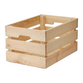 KNAGGLIG Box, pine - 702.923.59