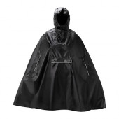 KNALLA Rain poncho, black - 602.834.21
