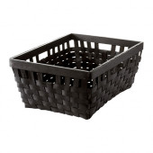 KNARRA Basket, black-brown - 902.433.15