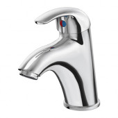 KRÅKSKÄR Bath faucet with strainer, chrome plated - 101.711.19
