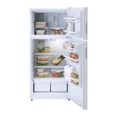 LAGAN Top freezer, white - 102.887.51