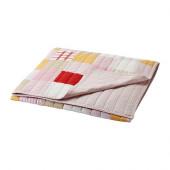 LEKANDE Bedspread, pink, red - 002.689.42