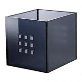 LEKMAN Box, dark gray - 102.225.81