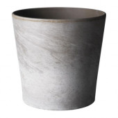 MANDEL Plant pot, gray-brown indoor/outdoor, gray-brown - 601.658.04