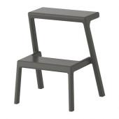 MÄSTERBY Step stool, gray - 302.401.50