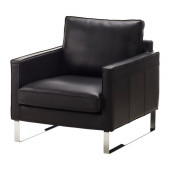 MELLBY Chair, Grann black - 302.144.10