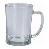 MJÖD Beer mug, clear glass - 100.922.16