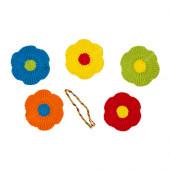 MJUKNÄVA Textile decorative patches, assorted colors - 002.394.88