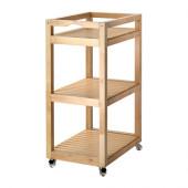 MOLGER Cart, birch - 202.414.09