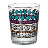 MURKLA Glass, patterned multicolor - 602.358.83