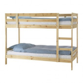 MYDAL Bunk bed frame, pine - 201.024.51