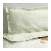 NANIG 4-piece bed linen set for crib, green - 202.824.28