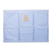 NANIG Wall pockets, light blue - 503.065.12