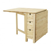 NORDEN Gateleg table, birch - 102.902.21