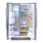 NUTID S25 Side-by-side refrigerator, Stainless steel - 302.548.92