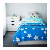 OLIVTRÄD Bedspread/blanket, blue - 202.996.31