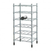 OMAR Bottle shelf, galvanized - 300.697.62