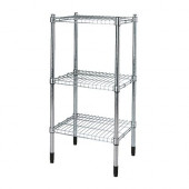 OMAR Shelving unit, galvanized - 000.697.68