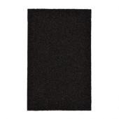 OPLEV Door mat, indoor/outdoor black - 102.922.63