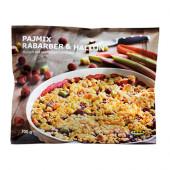 PAJMIX RABARBER & HALLON Rhubarb & raspberry crumble, frozen - 702.940.99