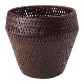 PARANÖT Plant pot, brown - 401.866.09