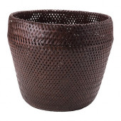 PARANÖT Plant pot, brown - 001.970.06
