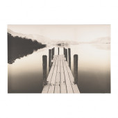 PJÄTTERYD Picture, jetty at dawn - 002.958.70