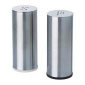 PLATS Salt & pepper shaker, set of 2, stainless steel - 802.336.75