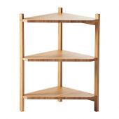 RÅGRUND Sink shelf/corner shelf, bamboo - 402.530.76