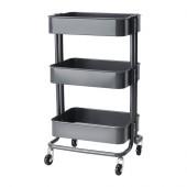RÅSKOG Utility cart, dark gray - 502.279.73