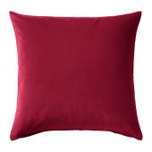 SANELA Cushion cover, dark pink - 602.967.01