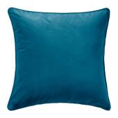 SANELA Cushion cover, dark turquoise - 202.967.03