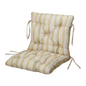 SÄRÖ Seat/back pad, outdoor, beige - 802.616.49