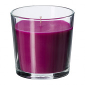 SINNLIG Scented candle in glass, Full blossom, lilac - 002.363.57