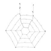 SKRUV LED lighting net with 48 lights, outdoor, black - 002.955.92