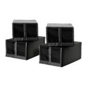 SKUBB Shoe box, black - 103.000.36