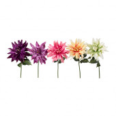 SMYCKA Artificial flower, Dahlia assorted colors - 002.342.40