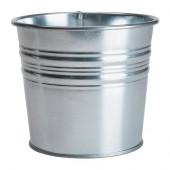 SOCKER Plant pot, galvanized indoor/outdoor, galvanized - 901.556.72