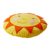 SOLIGT Cushion, yellow - 803.065.20