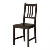 STEFAN Chair, brown-black - 002.110.88
