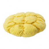 STICKAT Stool cover, yellow - 702.962.82