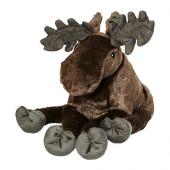 STRÖVA Soft toy, elk gray - 902.604.56