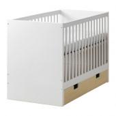 STUVA Crib with drawers, birch $199.00 - 790.324.42